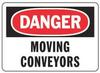 Danger Sign,7 x 10In,R and BK/WHT,PLSTC -- 9RCX6