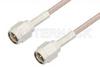 SMA Male to SMA Male Cable 48 Inch Length Using 75 Ohm RG179 Coax, RoHS -- PE3739LF-48 -Image