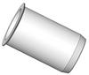 Thin Head Round Body Threaded Insert - Open End - Metric -- AETRS-M4-2-5SZI-2