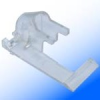 Vinyl Clear Single Siding Clip -- VS-LX