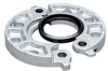 Flange Fitting -- 743-6IN-VP-E-GLV