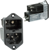 Power Entry Connectors - Inlets, Outlets, Modules -- 486-1110-ND -Image