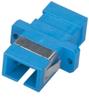 Fiber Optic Coupling, SC-SC, Rectangular Mounting, Multimode, Simplex, Bronze Sleeve, Plastic Flange -- FOT117