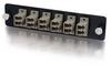 Q-Series? 12-Strand, LC Duplex, PB Insert, MM, Beige LC Adapter Panel -- APL-QTR-DL