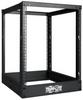 13U SmartRack 4-Post Open Frame Rack - Organize and Secure Network Rack Equipment -- SR4POST13 - Image