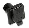 Pollak 11-893 7-Way RV Trailer Connector Socket, Heavy Duty Nylon -- 37683 -Image