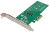 M.2 NGFF PCIe SSD (M-Key) PCI Express (x4) Card -- PCE-1M2-PX4 - Image