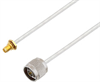 N Male to SMA Female Bulkhead Cable Assembly using LC141TB Coax, 3 FT -- LCCA30419-FT3 -Image