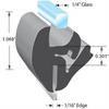 One-piece Locking Gasket -- LK1522 - Image