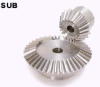 100mm PD Stainless Steel Bevel Gears -- SUB2.5-4020 - Image