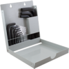 18 Pieces SAE Short Hex Key Set -- 69718 - Image