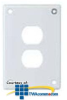 Hubbell Security Wall Plate -- SWP8