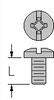 Brass-Nickel Binding Head Machine Screws