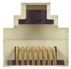 Shielded Modular Adapter, DB25 Female / Dual RJ45 (8x8) Jacks -- RA2588FS