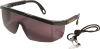 Smoked Safety Glasses -- 8173452