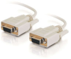 10ft DB9 F/F Null Modem Cable - Beige -- 2301-03045-010 - Image