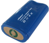 Lithium-ion Battery Pack for Lamp, with PCM and Gold-plated Contact Panel, 7.4V, 2,200mAh -- LIC18650--2200 2S1P