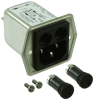 Power Entry Connectors - Inlets, Outlets, Modules -- 486-1267-ND -Image