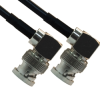 75 Ohm BNC MALE RIGHT ANGLE TO 75 Ohm BNC MALE RIGHT ANGLE -- RF-18B18-12 - Image