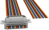 D-Shaped, Centronics Cables -- M7LXK-2406R-ND -Image