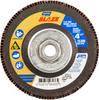Norton Blaze CA Coarse Arbor Thread Fiberglass HD Flat Flap Disc -- 66261096436 - Image
