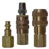 Industrial Interchange Coupler & Plug -- 4DM4-B