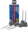 Henkel Loctite HY 4090 Hybrid Adhesive Off-White 50 g Cartridge -- 2123350