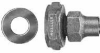 Straight Coupling With Copper Flare Connection -- H-15510N