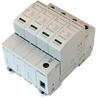 AC Surge Protector SPD I2R-T240 DIN-Rail 230 Vac 3-Phase Wye MOV 40 kA, IEC 61643-11 Class II, CE, RoHS -- I2R-T240-4P230 -Image