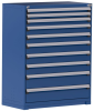 Heavy-Duty Stationary Cabinet (with Compartments), 10 Drawers (48