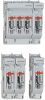 IEC Fuse Switch Disconnectors: MULTIBLOC® 00.ST8 Size 00 160A, 690VAC Bottom Fitting, 1-,2-,4-pole -- 1.000.139 - Image