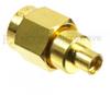 MMCX Jack to SMA Male (Plug) Adapter, High Temp, 1.25 VSWR -- SM4781 - Image