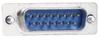 Ferrite Filter (EMI) Adapter, DB15 Male / Female -- DGF15MF - Image