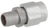 Slide-On BMA Plug to SMA Male (Plug) Adapter, Passivated Stainless Steel Body, 1.15 VSWR -- FMAD1106 - Image