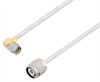 SMA Male Right Angle to TNC Male Cable Assembly using LC141TB Coax, 3 FT -- LCCA30426-FT3 -Image