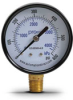 0-600 psi / 0-4000 kPa Pressure Gauge with 2.5 inch mechanical dial -- G25-BD600-4LB