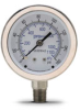 0-160 psi / 0-1100 kPa Pressure Gauge with 2.5 inch mechanical dial -- G25-SD160-4LS - Image