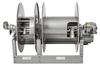 Power Rewind Liquid Reel with Manual Rewind Vapor Reel -- PBM