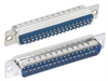 DB37 Male Solder Connectors, Tray 40 -- SD37P-TRAY - Image