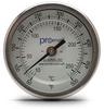 50-500F Bi-Metal Dial ThermoMeter w/ 3 inch Dial & 2.5 inch stem -- T30-50500-25C