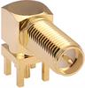 Coaxial Connectors (RF) -- CONREVSMA002-L-G-ND -Image