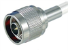 N-Male to RP-SMA Plug 400 Series Assembly 20 ft -- CA4NMRSF020 -Image