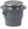 Adjustable Floor Drain with SS Strainer -- FD-1200-A