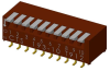 DIP Switches -- 193-10MS-ND - Image