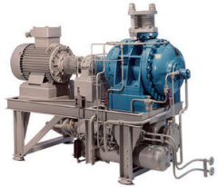 High pressure positive displacement industrial blower example