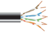 Outdoor-Rated CAT5e Solid, Gel-Filled, Bulk Cable, Non-Armored, 1000-ft. -- C5EGF-NA-1000