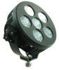LED Light - 60 watts - 6 X 10 Watt - 5400 Lumens - 6 inch round - stud mount