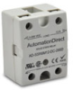 SOLID ST RELAY 12A SPST VDC INPUT N.O. 3-200 VDC PANEL MOUNT -- AD-SSR6M12-DC-200D