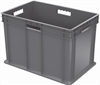 Container, Straight Wall Container, Solid -- 37686GREY