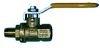 Full Port M x F Ball Valve -- JMBV-125